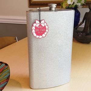Other - SILVER GLITTER PARTY FLASK